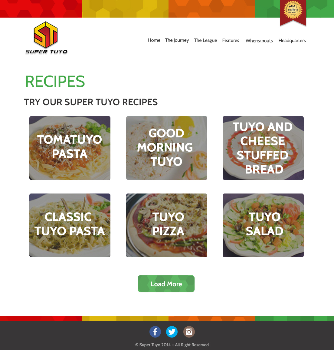 Super Tuyo Website 2015