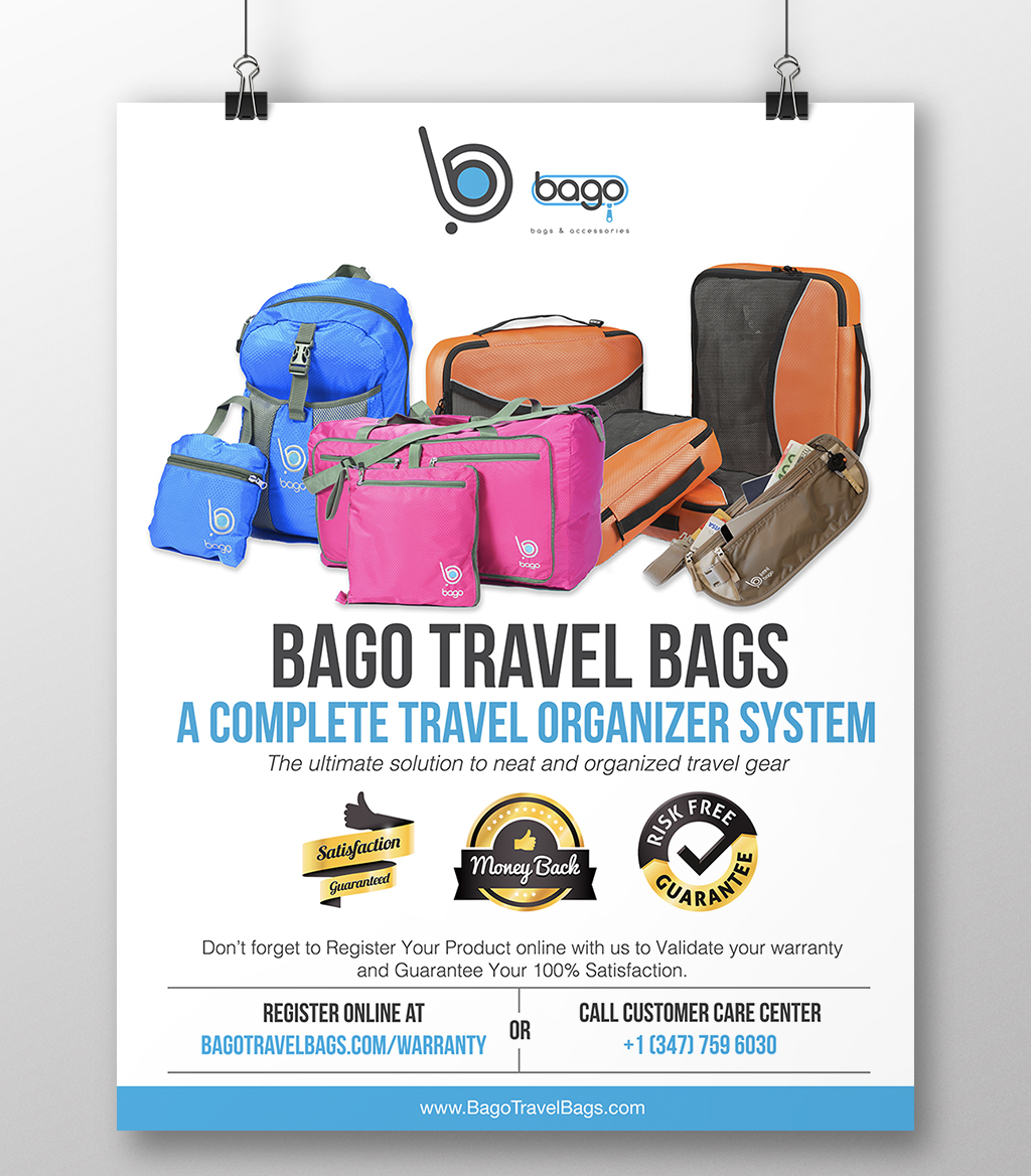 Bago Travel Bags Flyer
