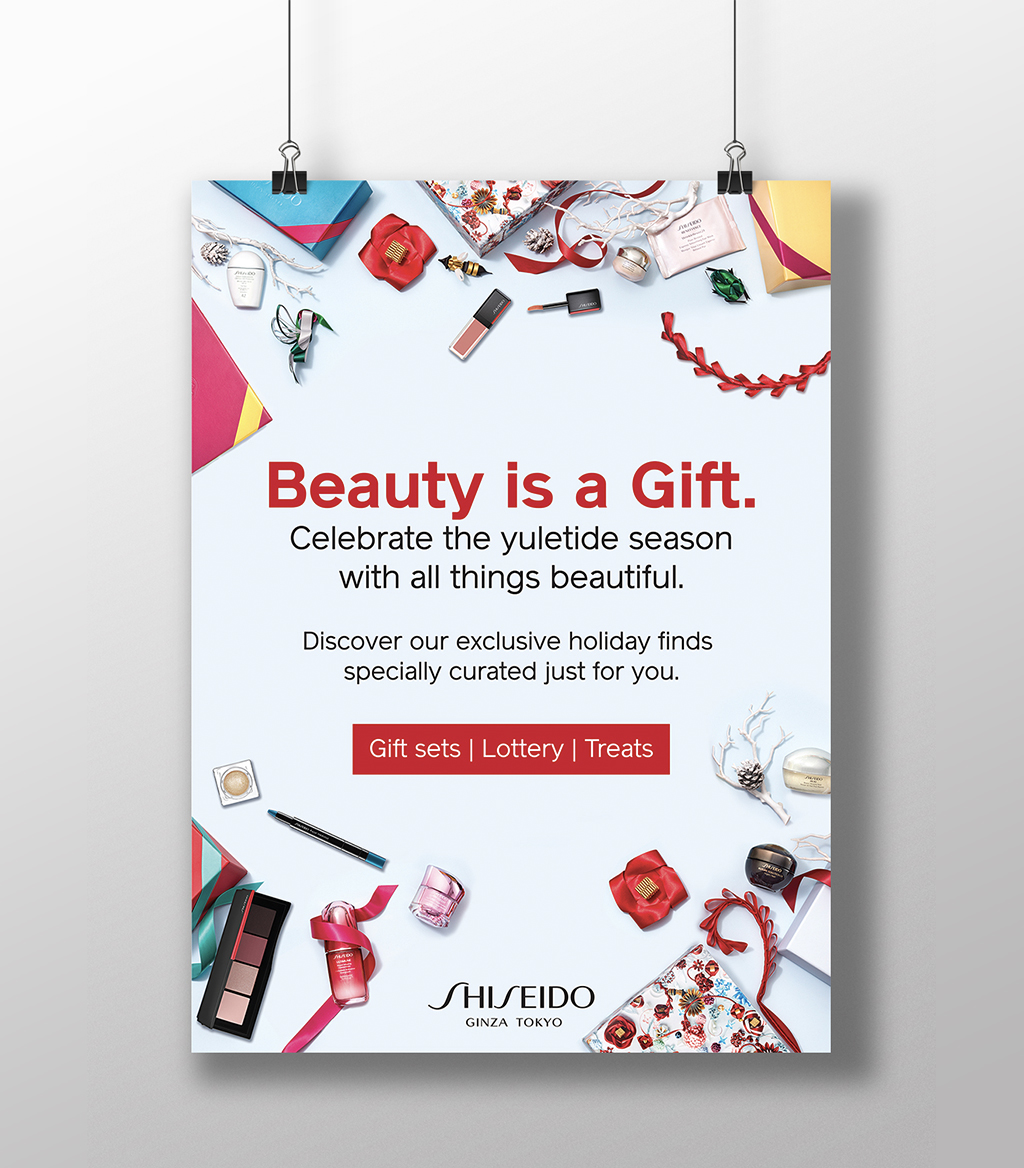 Shiseido Philippines Promo Posters 2018
