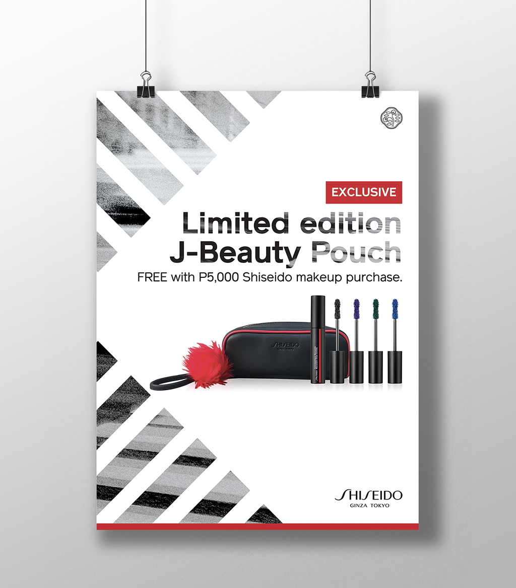 Shiseido Philippines Promo Posters 2018